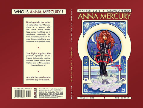 ANNA MERCURY VOL 1: The Cutter Hardcover