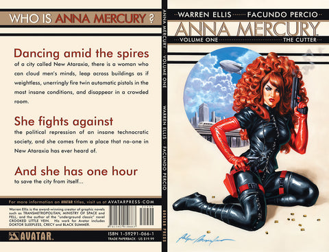 ANNA MERCURY VOL 1: The Cutter TPB