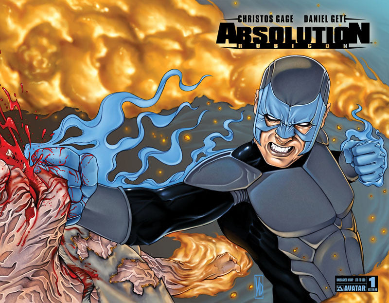 ABSOLUTION: RUBICON #1 Unleashed Wraparound