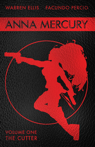 ANNA MERCURY Vol 1 Signed Leather Hardcover