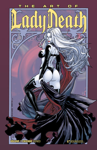 ART OF LADY DEATH HC Wizard World Chicago