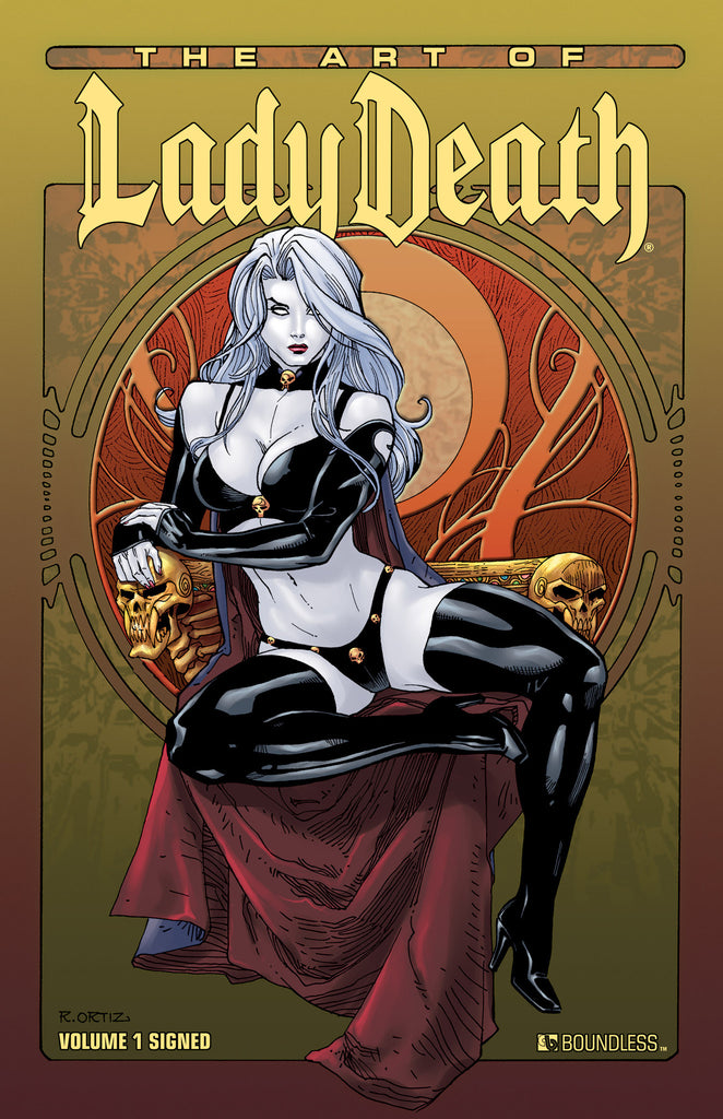 ART OF LADY DEATH VOL 1 Hardcover