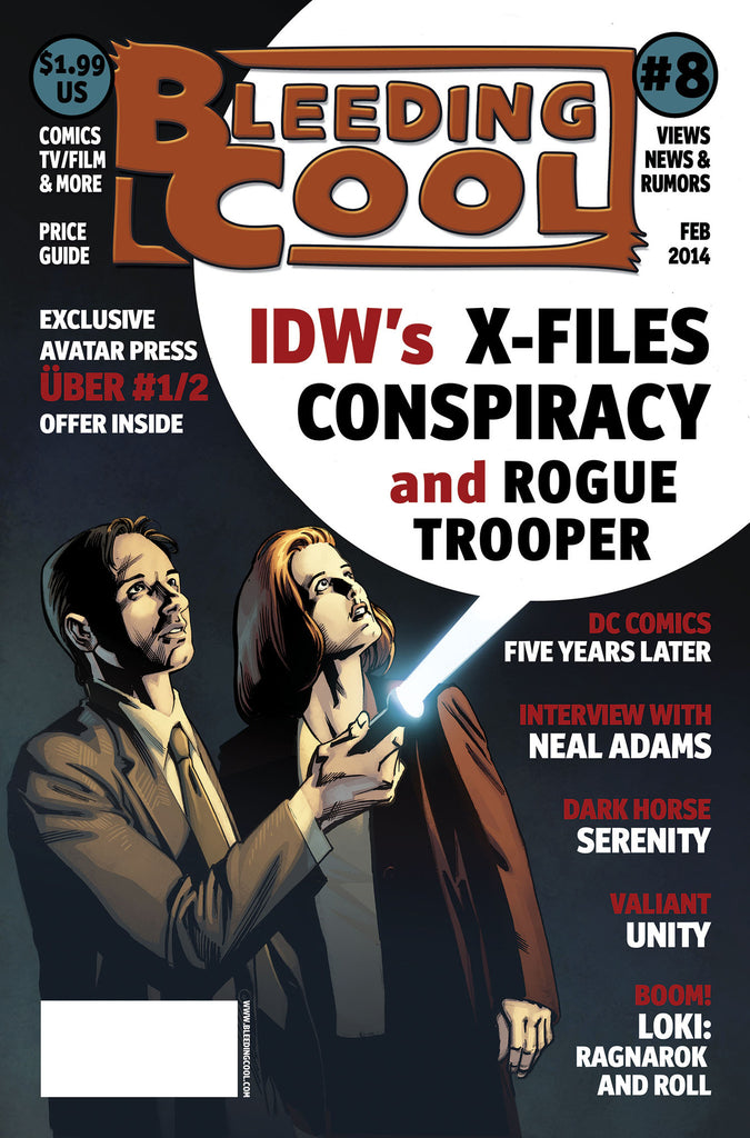 BLEEDING COOL MAGAZINE #8