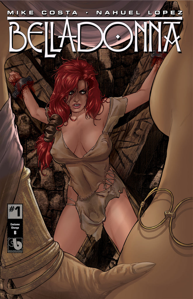 BELLADONNA #1 Costume Change - cover B