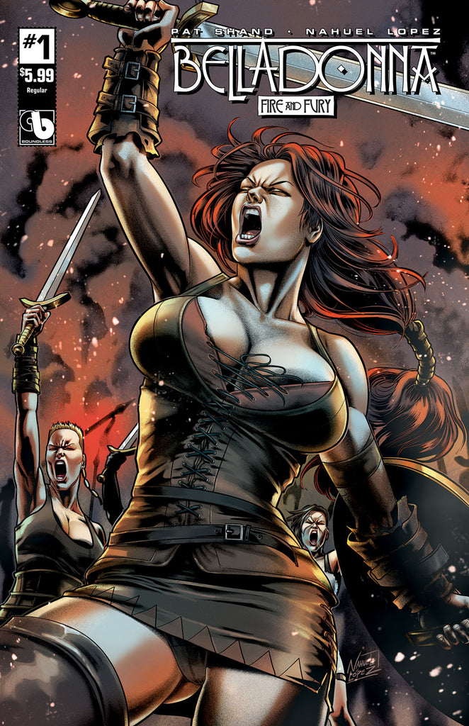 BELLADONNA: FIRE & FURY #1 - Digital Copy