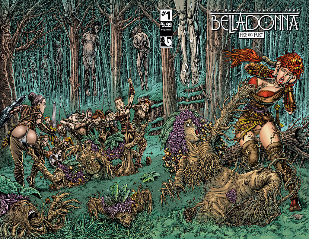 BELLADONNA: FIRE & FURY #1 Wraparound