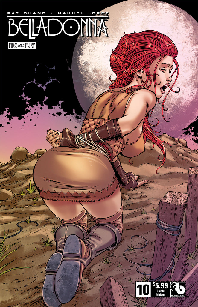 BELLADONNA: FIRE & FURY #10 Shield Maiden