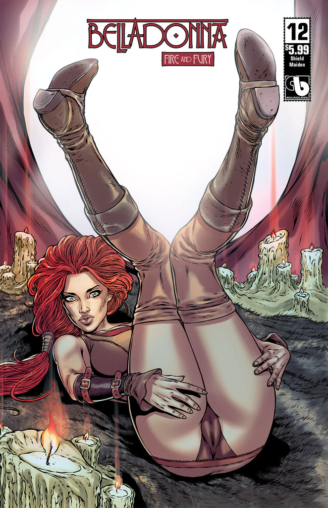 BELLADONNA: FIRE & FURY #12 Shield Maiden