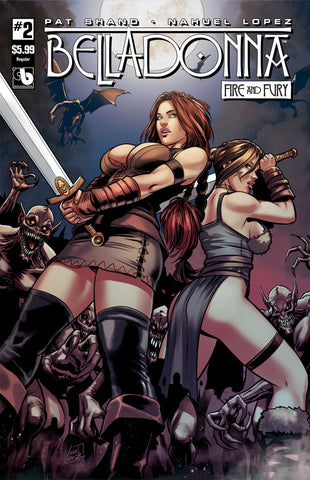 BELLADONNA: FIRE & FURY #2 - Digital Copy