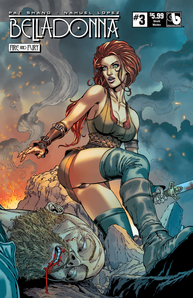 BELLADONNA: FIRE & FURY #3 Shield Maiden