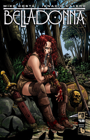 BELLADONNA #0 Kickstarter Cornered