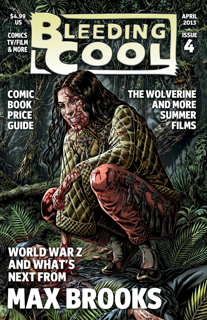 BLEEDING COOL MAGAZINE #4