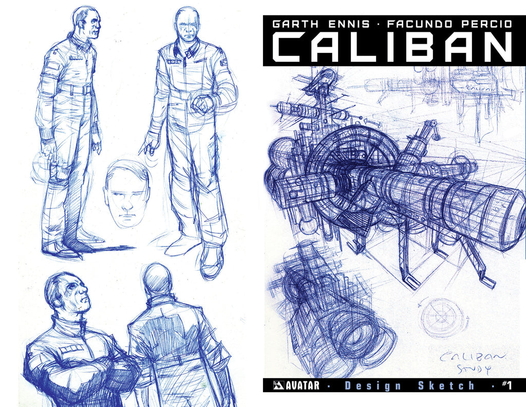 CALIBAN #1 Design Sketch