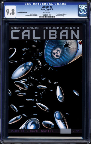 CALIBAN #2 Platinum CGC Numbered Edition
