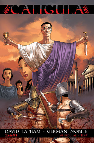 CALIGULA #1 - Digital Copy