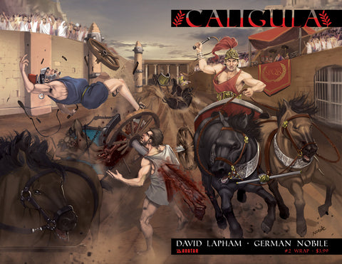 CALIGULA #2 Wraparound