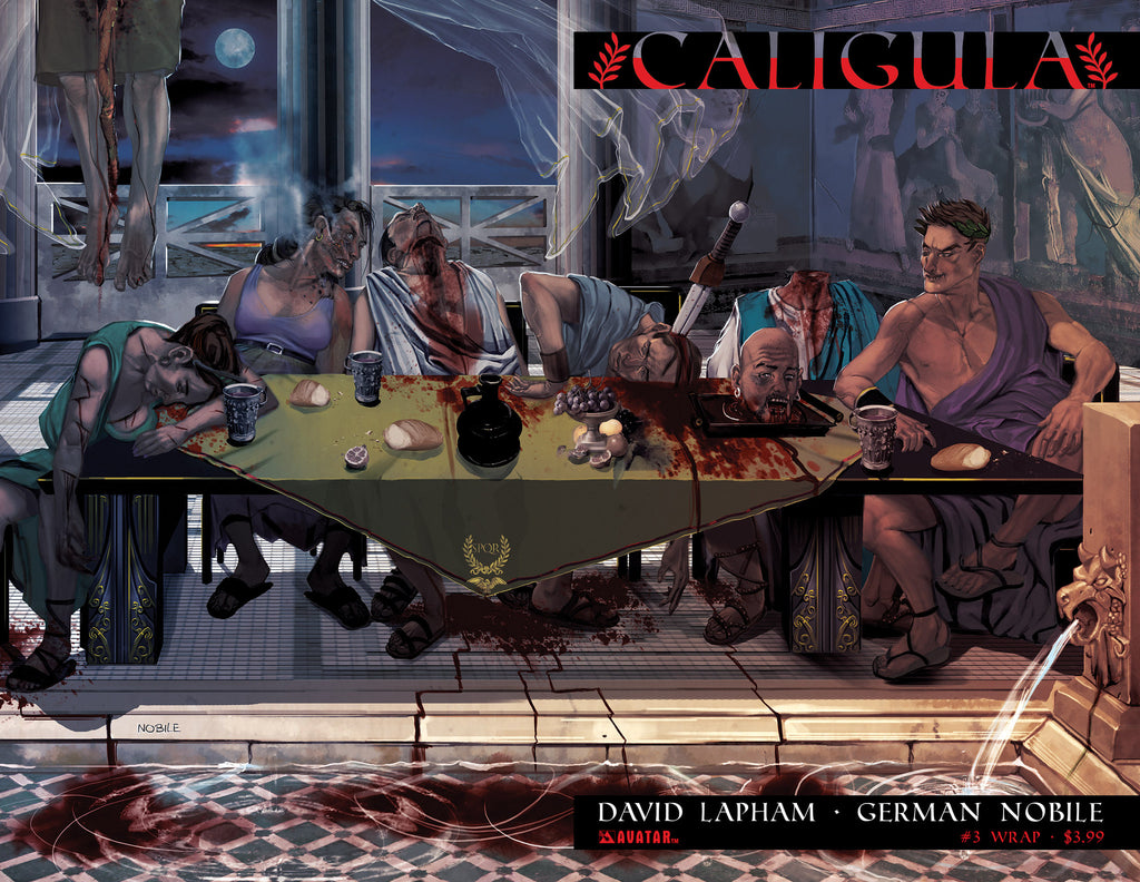 CALIGULA #3 Wraparound