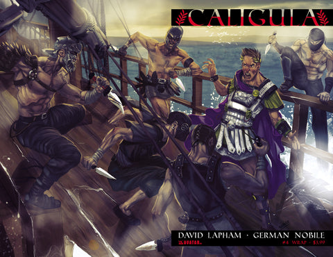 CALIGULA #4 Wraparound
