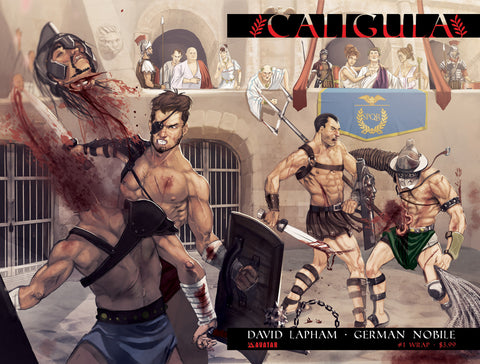 CALIGULA #1 Wraparound