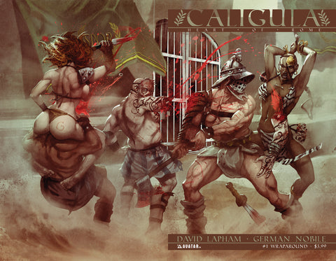 CALIGULA: HEART OF ROME #1 WRAPAROUND CVR
