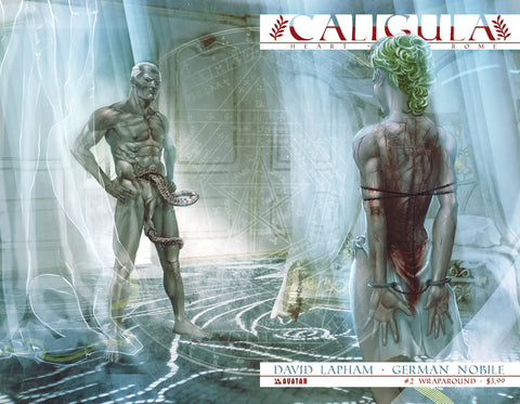 CALIGULA: HEART OF ROME #2 WRAPAROUND CVR