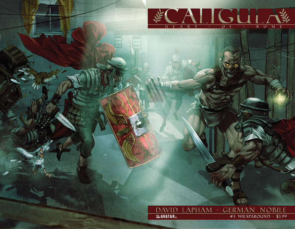 CALIGULA: HEART OF ROME #3 WRAPAROUND CVR