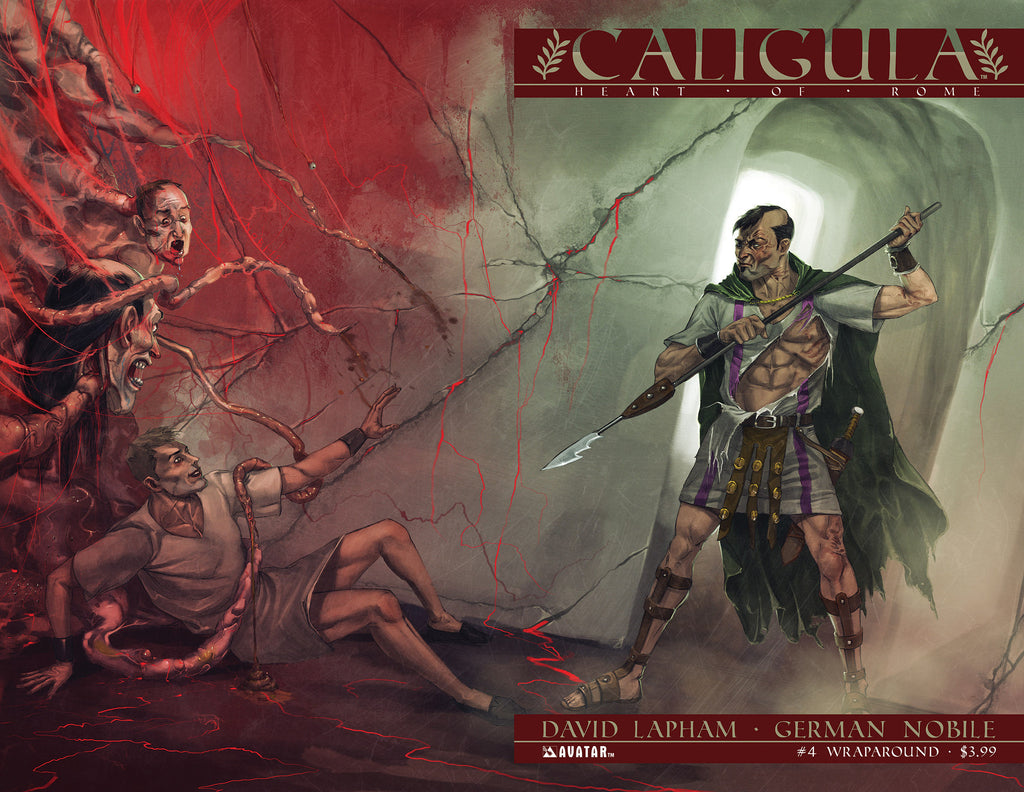 CALIGULA: HEART OF ROME #4 WRAPAROUND COVER