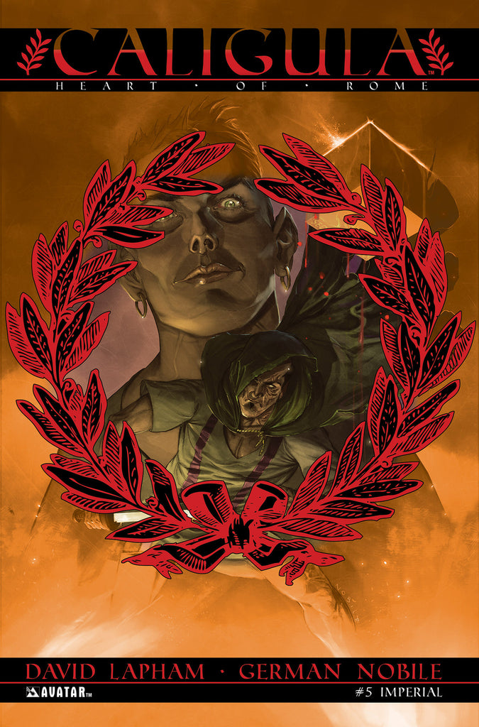 CALIGULA: HEART OF ROME #5 GORE COVER