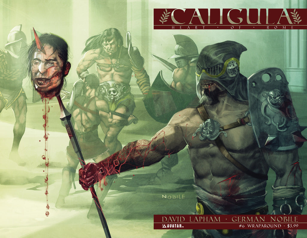 CALIGULA: HEART OF ROME #6 WRAPAROUND COVER