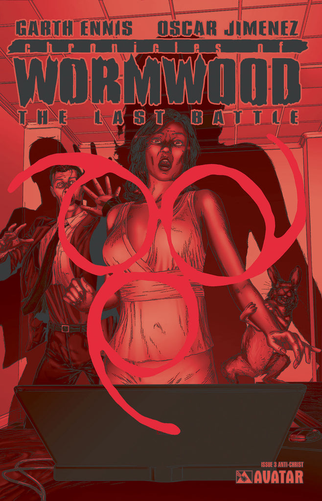 CHRONICLES OF WORMWOOD: The Last Battle #3 Anti-Christ Order inc