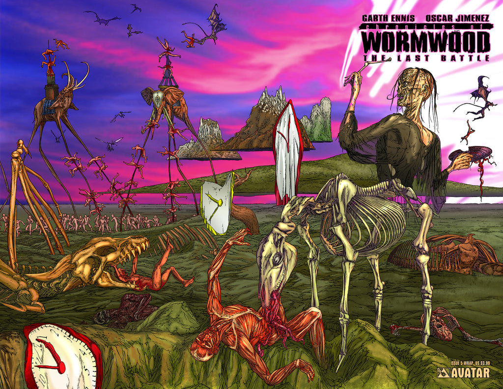 CHRONICLES OF WORMWOOD: The Last Battle #5 Wraparound