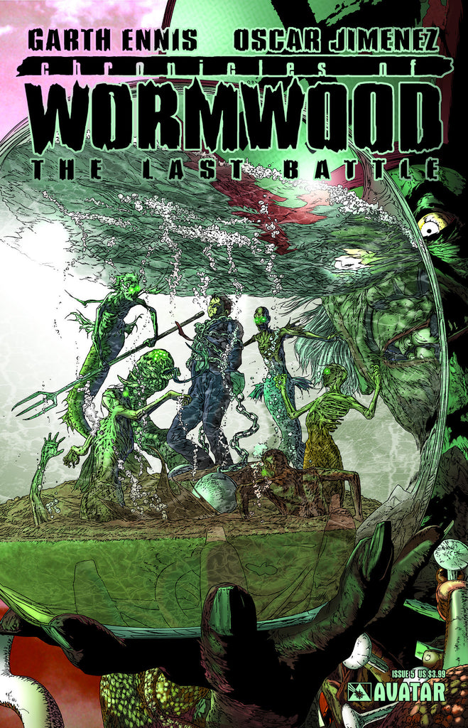 CHRONICLES OF WORMWOOD: The Last Battle #5 - Digital Copy