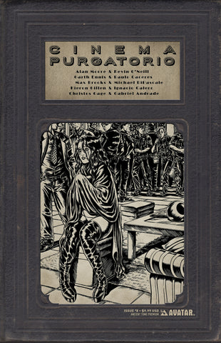 CINEMA PURGATORIO #8 Ancient Tome