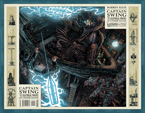 CAPTAIN SWING #1 Wraparound