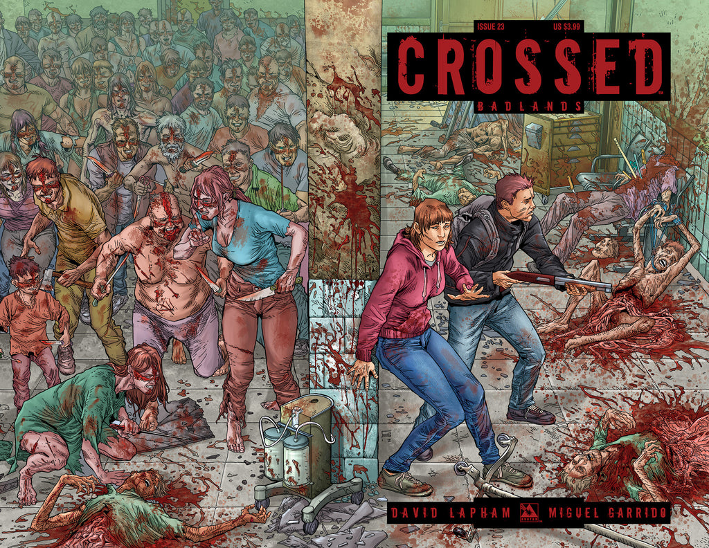 CROSSED: BADLANDS #23 WRAPAROUND