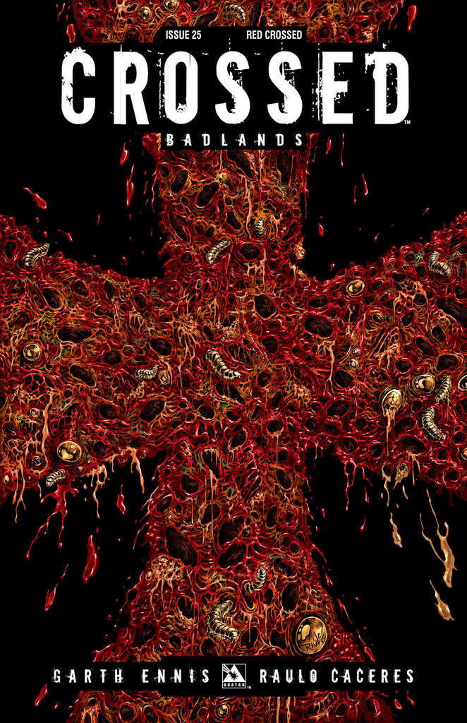 CROSSED: BADLANDS #25 RED CROSSED ORDER INCV CVR