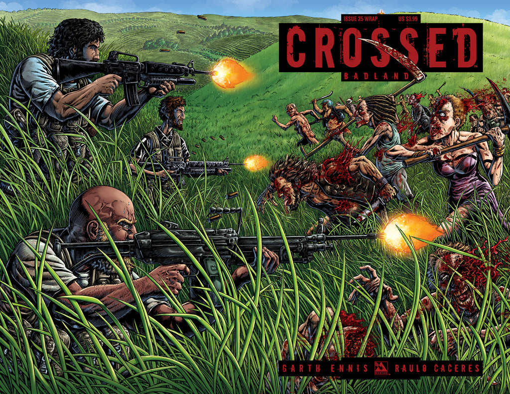 CROSSED: BADLANDS #25 WRAPAROUND