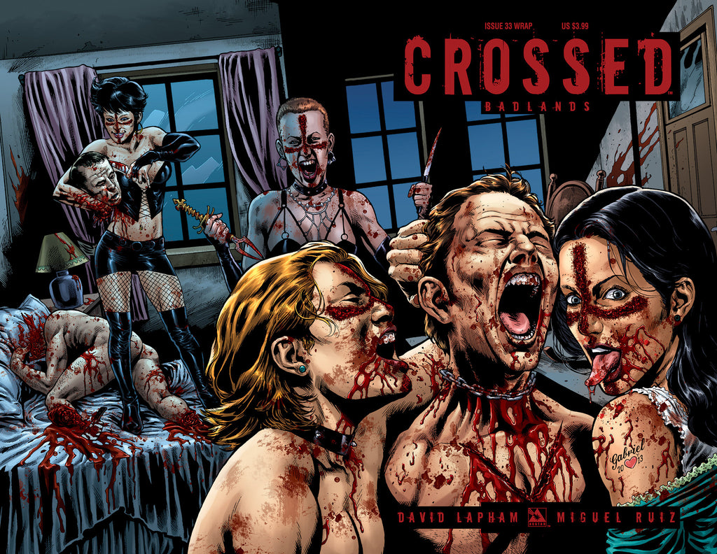 CROSSED: BADLANDS #33 WRAPAROUND COVER