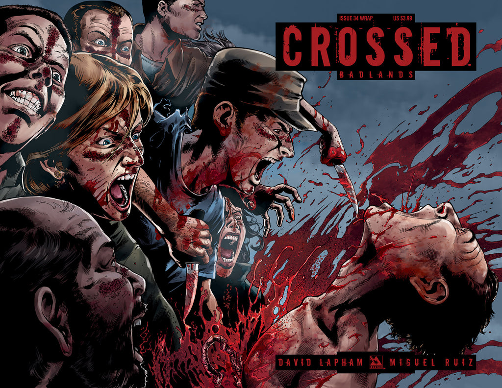 CROSSED: BADLANDS #34 WRAPAROUND