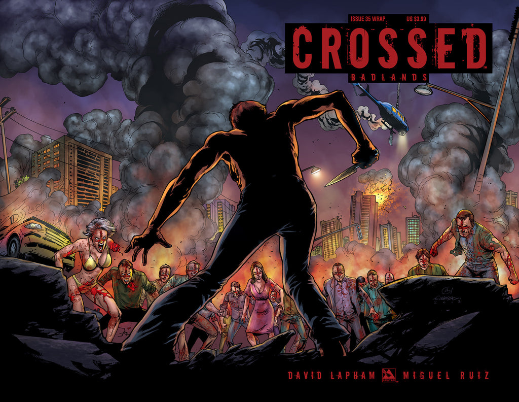 CROSSED: BADLANDS #35 WRAPAROUND COVER