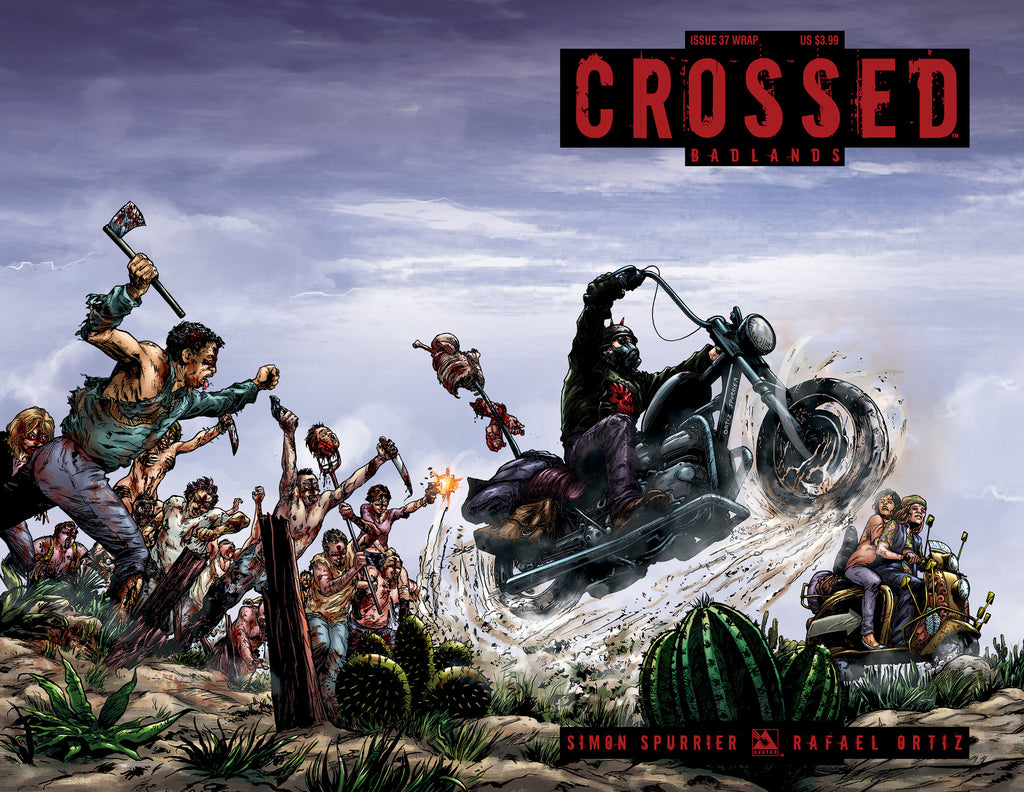CROSSED: BADLANDS #37 WRAPAROUND COVER