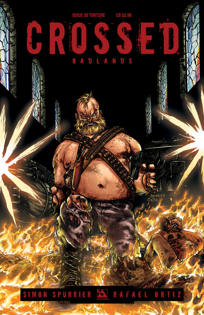 CROSSED: BADLANDS #38 TORTURE COVER