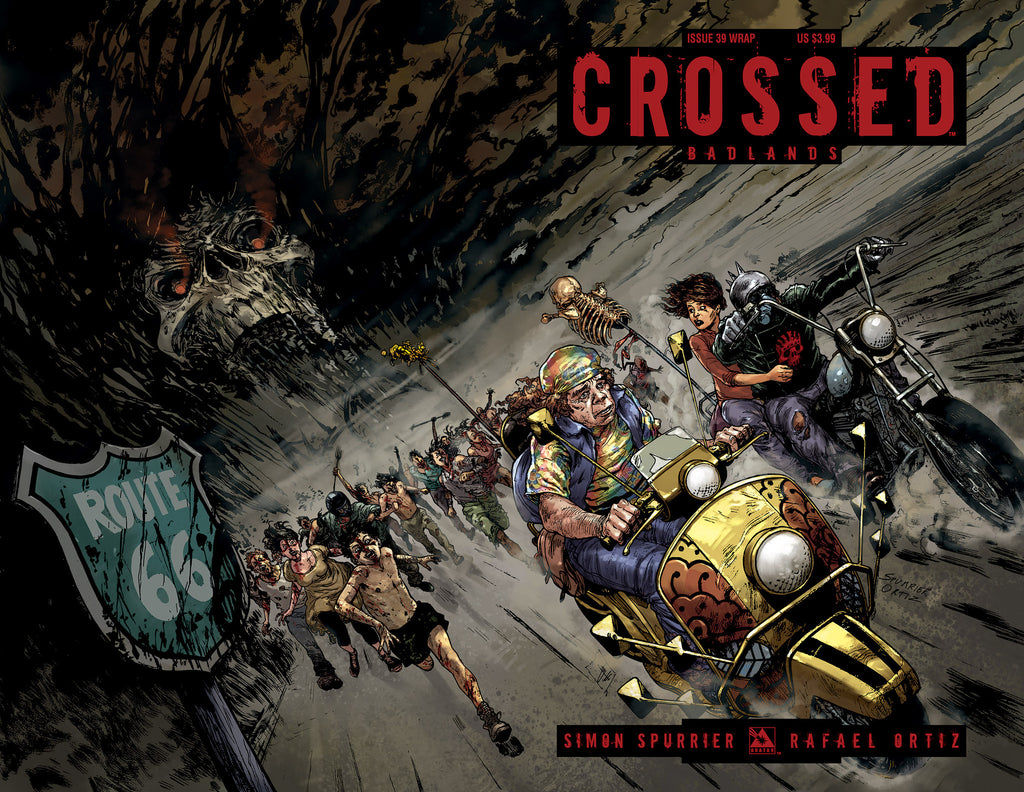 CROSSED: BADLANDS #39 WRAPAROUND COVER