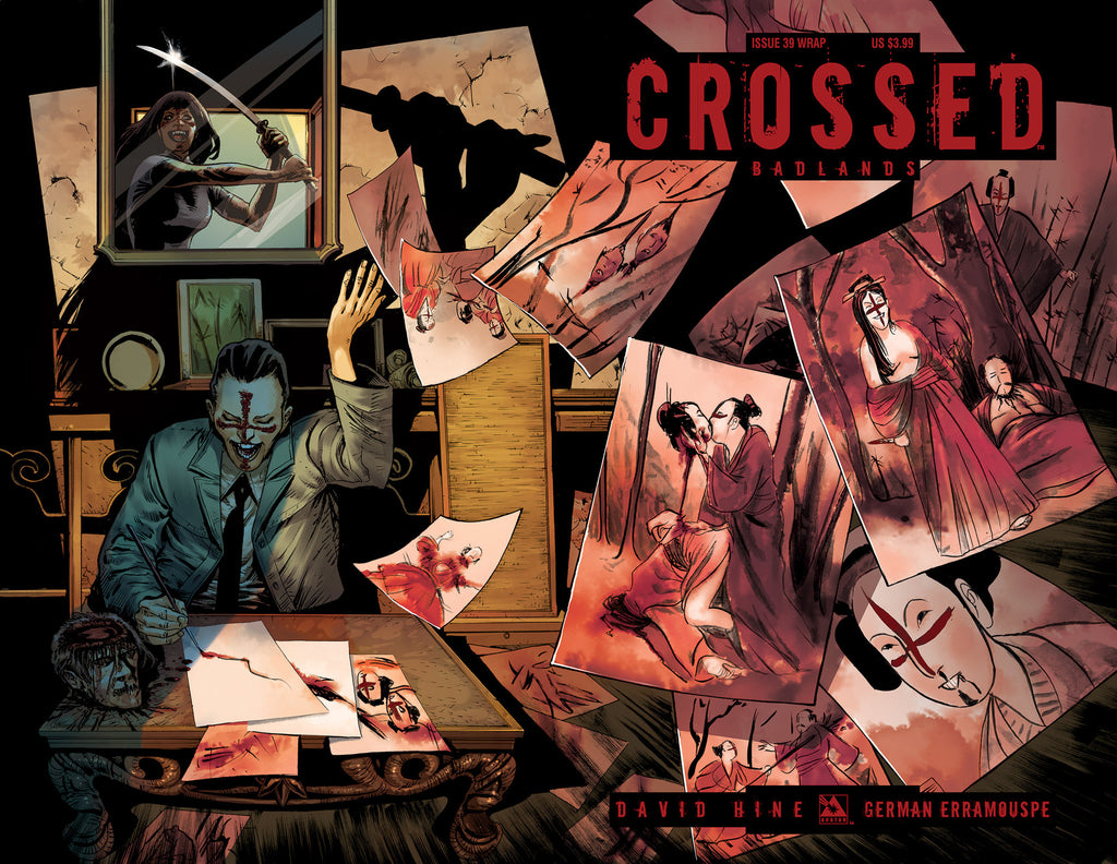 CROSSED: BADLANDS #40 WRAPAROUND