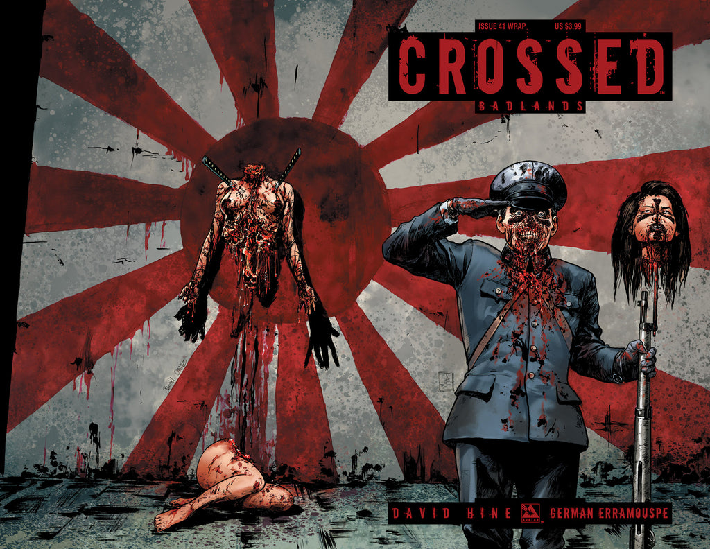 CROSSED: BADLANDS #41 WRAPAROUND COVER