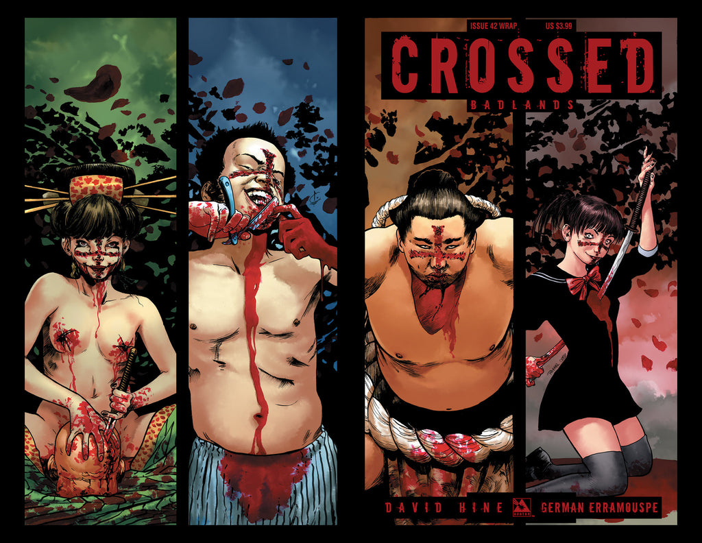 CROSSED: BADLANDS #42 WRAPAROUND