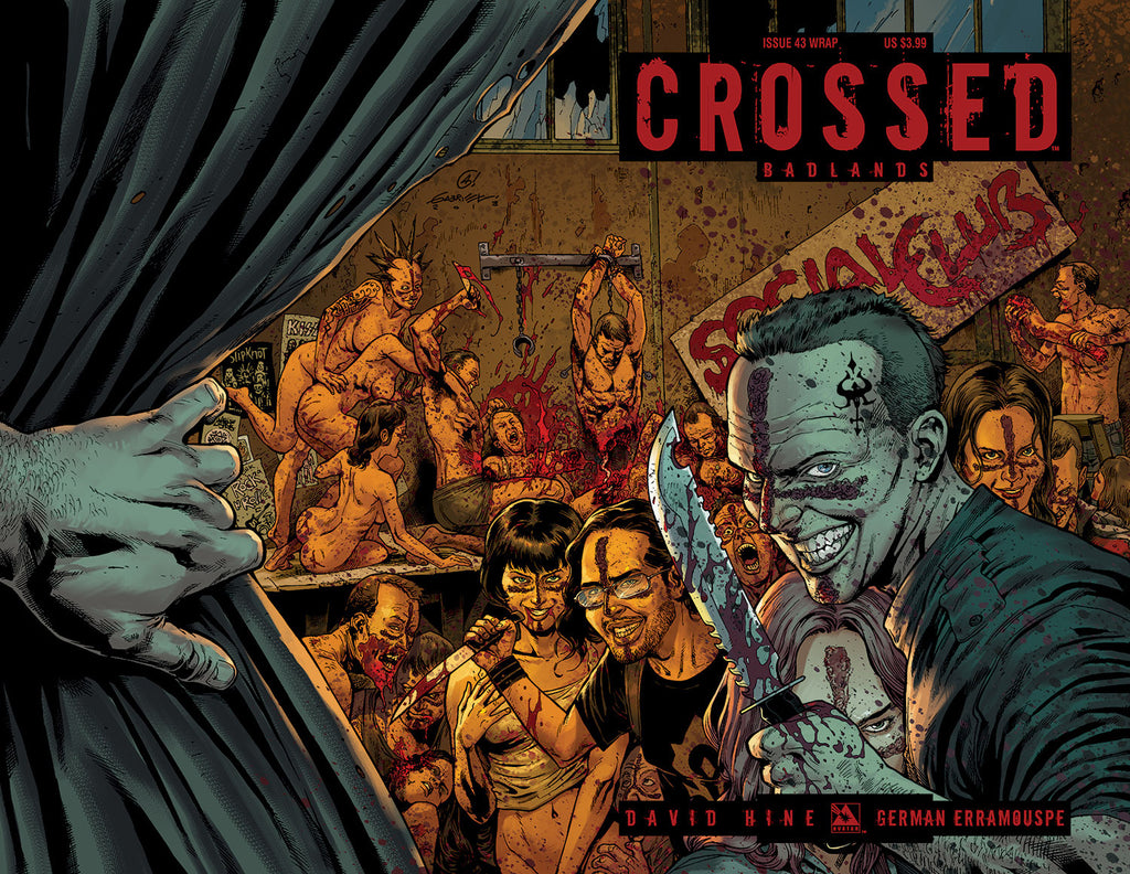 CROSSED: BADLANDS #43 Wraparound