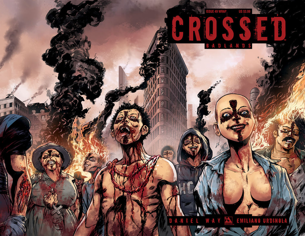 CROSSED: BADLANDS #49 WRAPAROUND