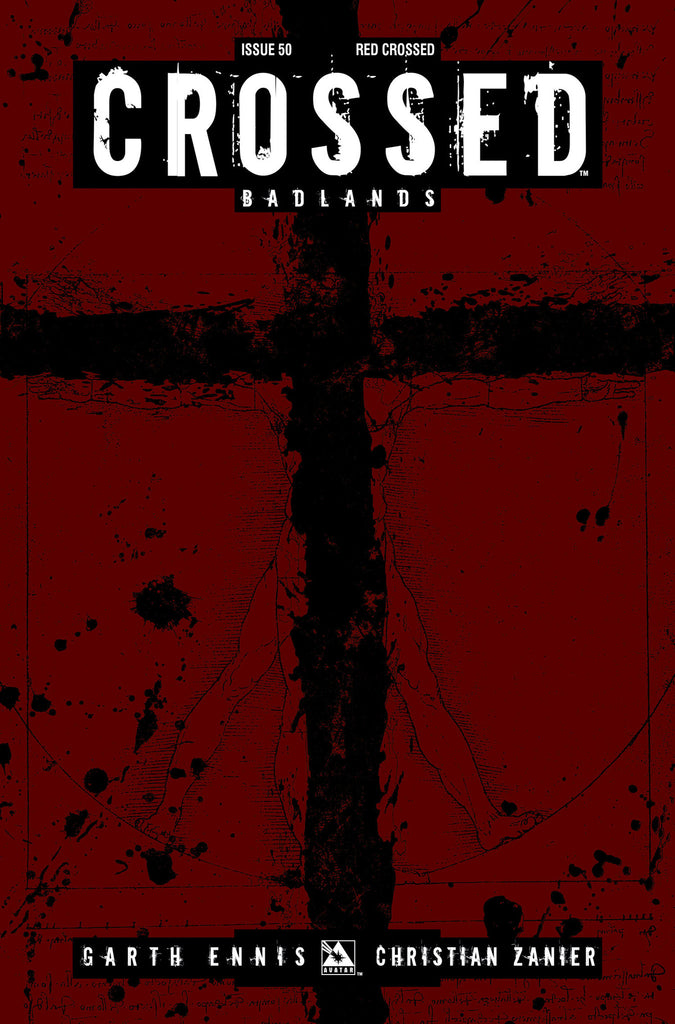 CROSSED: BADLANDS #50 RED CROSSED ORDER INCV CVR