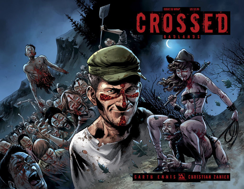 CROSSED: BADLANDS #55 Wraparound